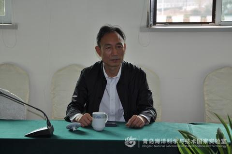中国海洋大学党委书记鞠传进到访海洋国家实验室